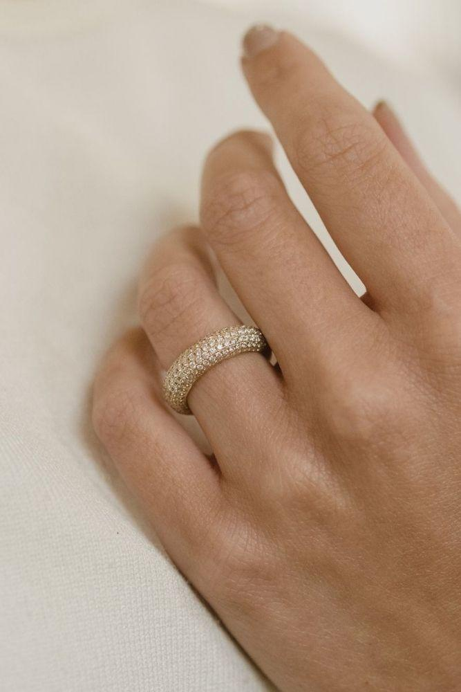 unique wedding rings wedding bands in rose gold1