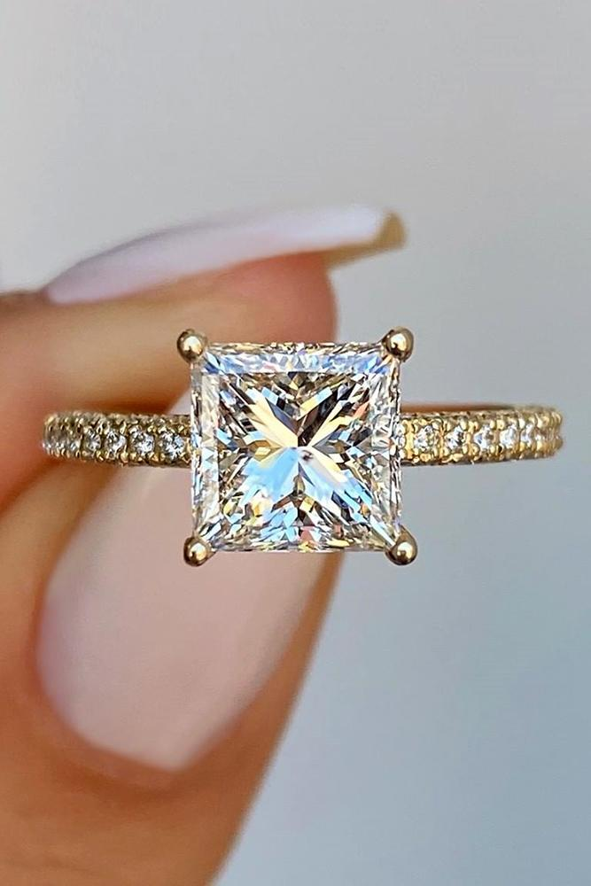 diamond engagement rings three stone ring round princess cut engagement ring