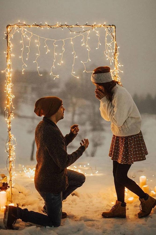 unique proposal ideas winter proposals