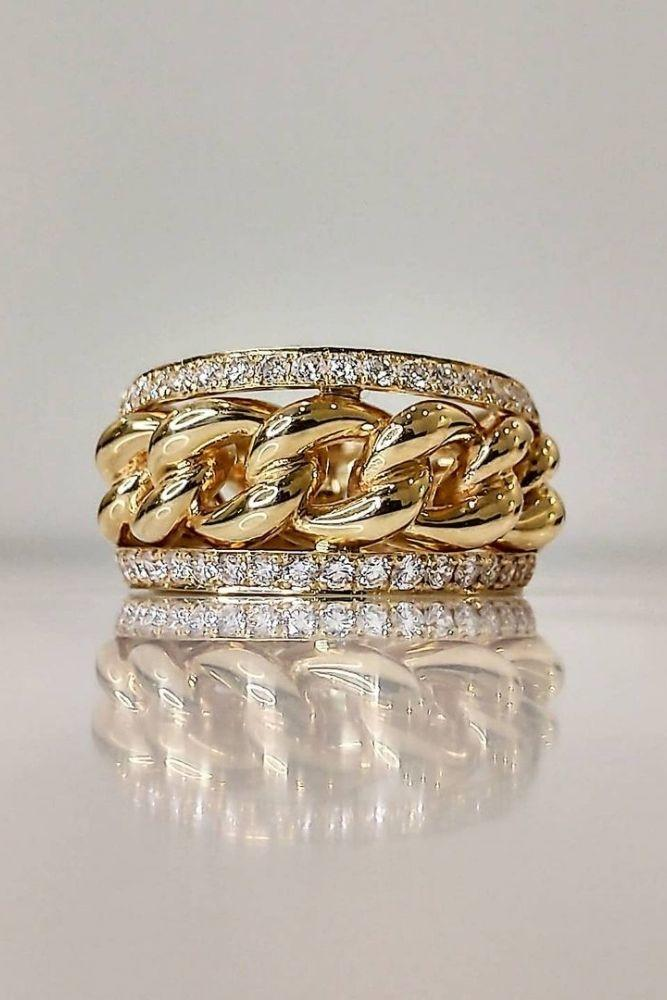 wedding rings set unique stackable wedding rings