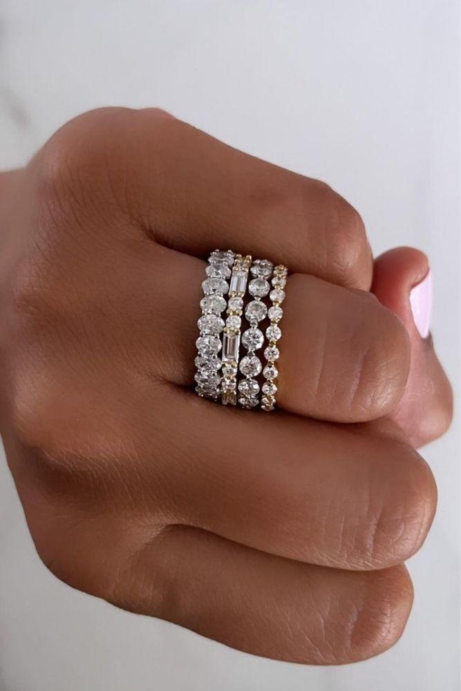 diamond engagement rings diamond wedding bands in white gold