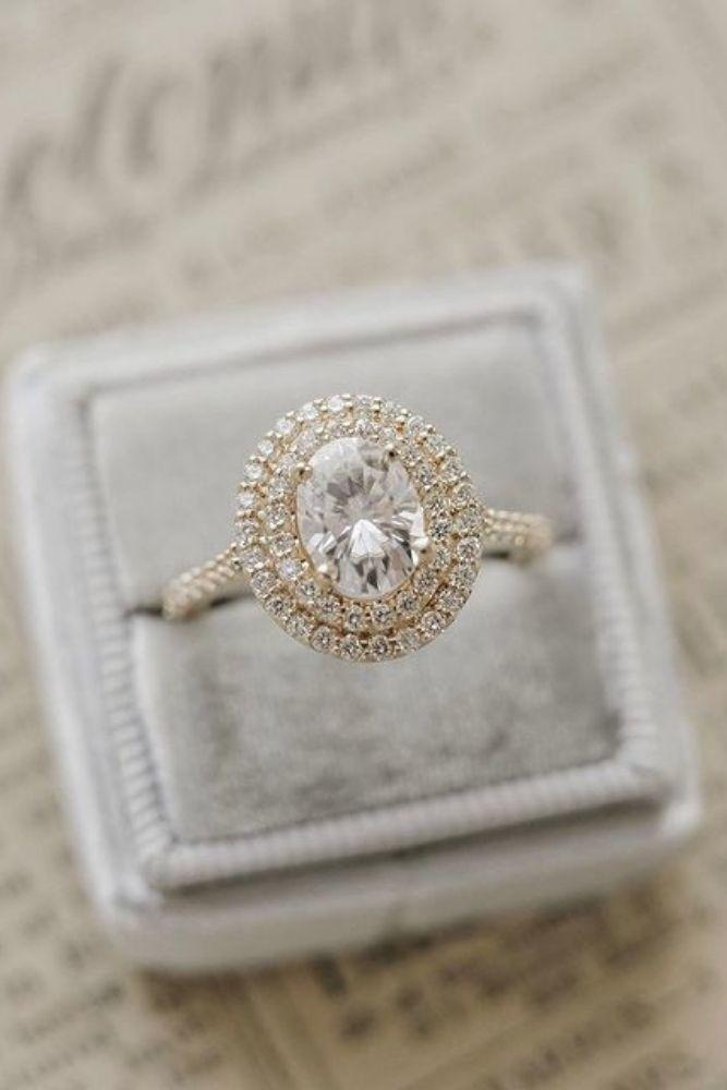 oval engagement rings halo engagement rings