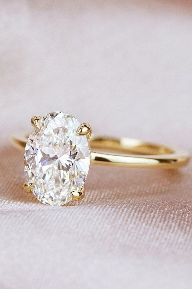 oval engagement rings simple engagement rings