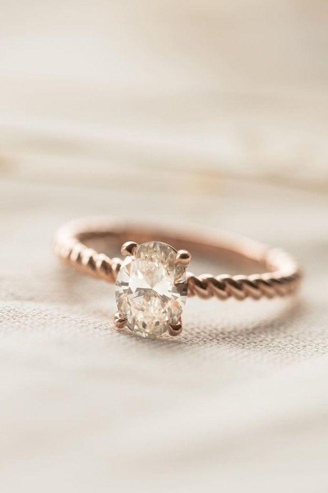 oval engagement rings simple engagement rings1