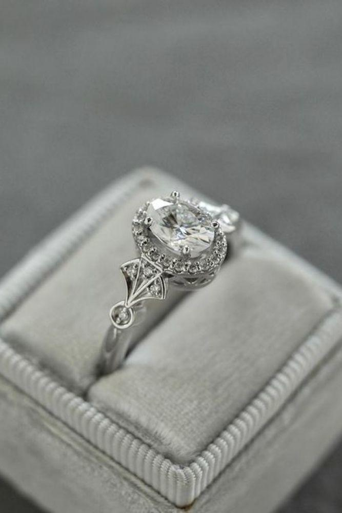 oval engagement rings vintage rings1