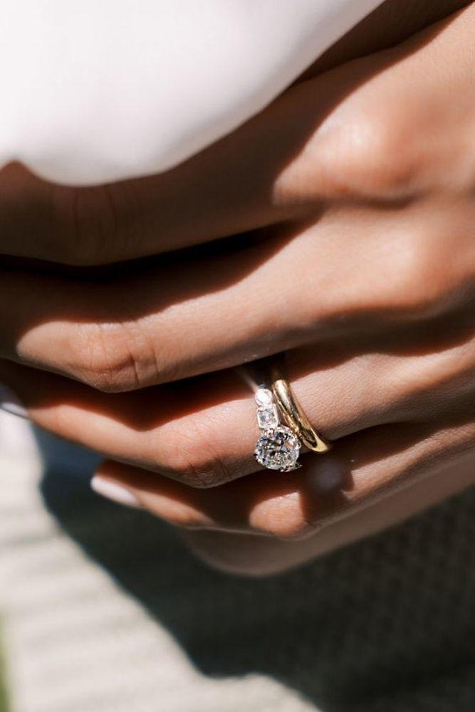 diamond wedding rings amazing two tone wedding rings