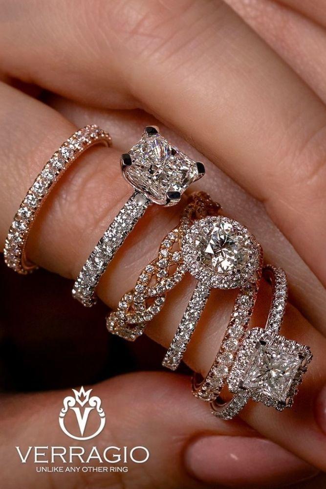 simple engagement rings radiant cut diamonds rings1