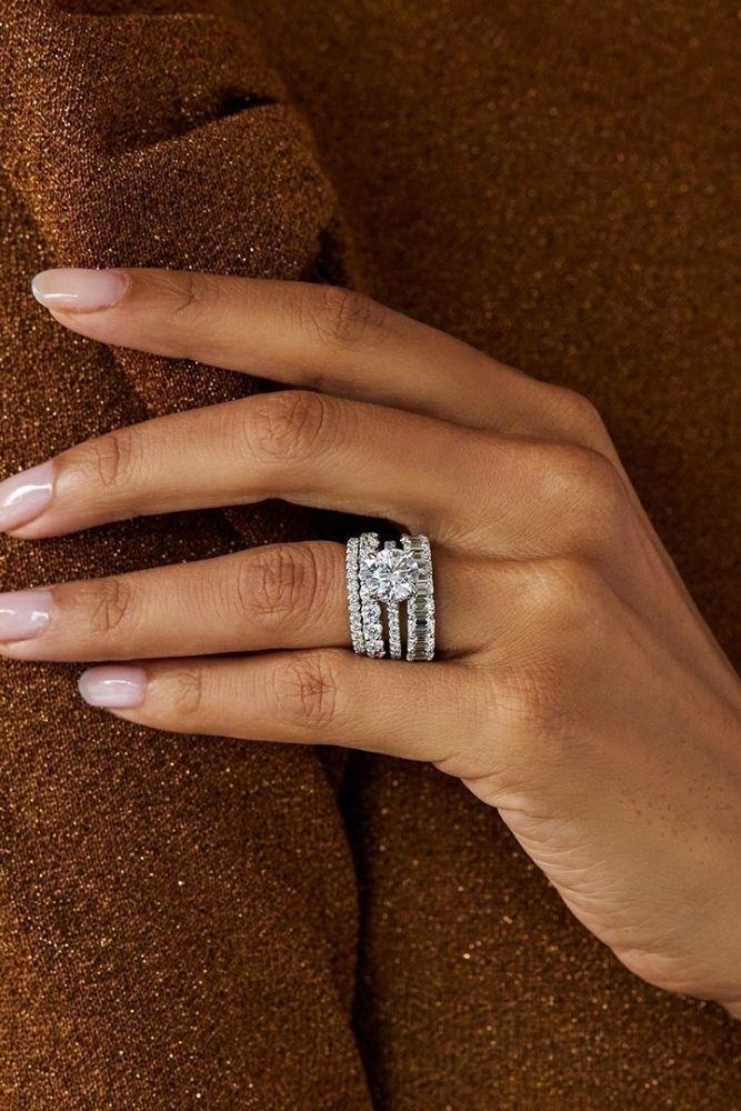 bridal sets white gold amazing wedding bands