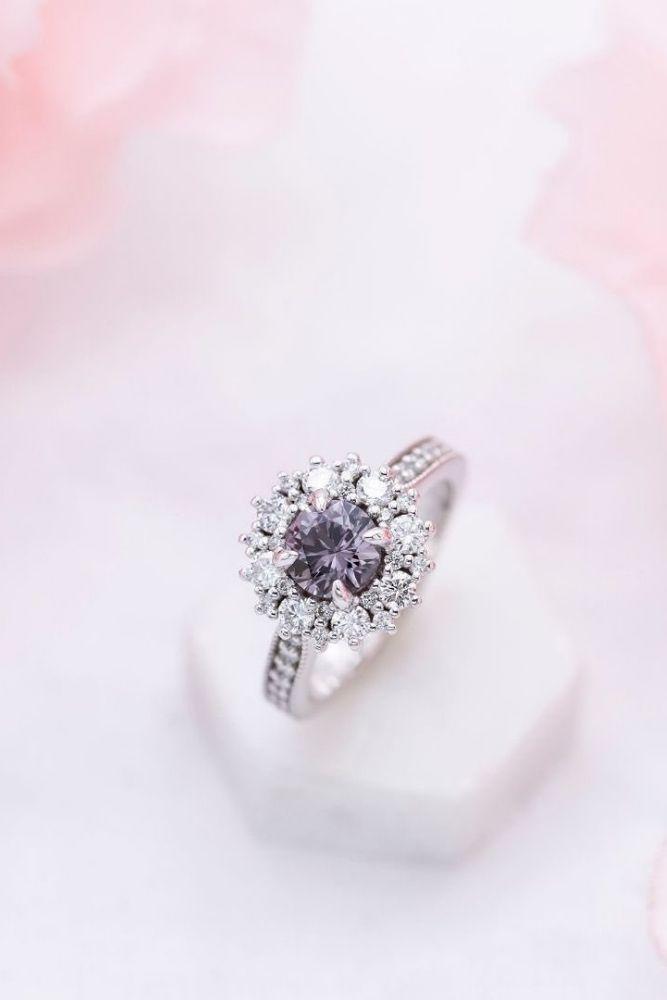 unique engagement rings unique white gold engagement rings