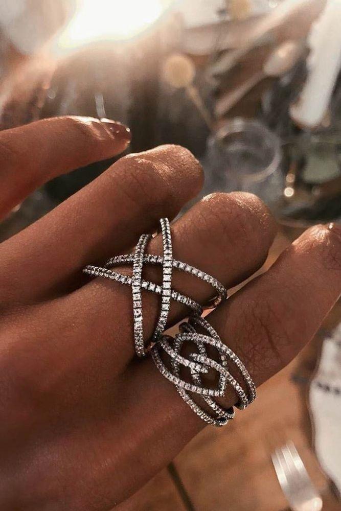 unique engagement rings unique white gold engagement rings1