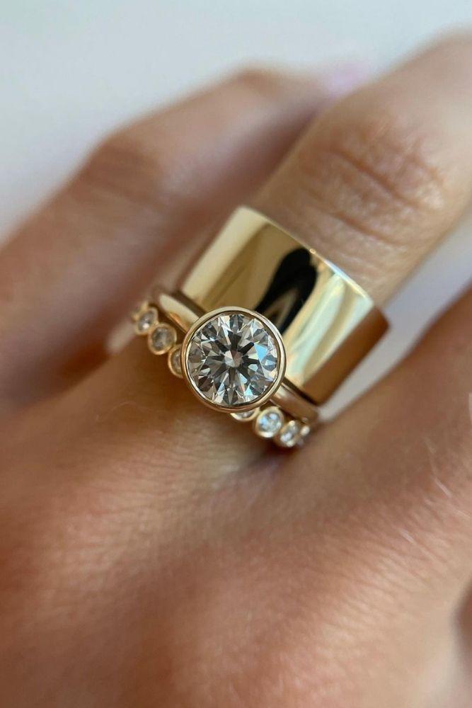 bridal sets unique bridal sets with round cut diamonds