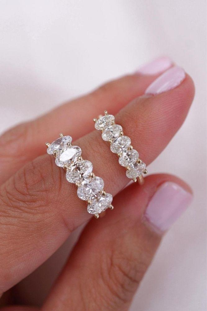 bridal sets white gold wedding bands
