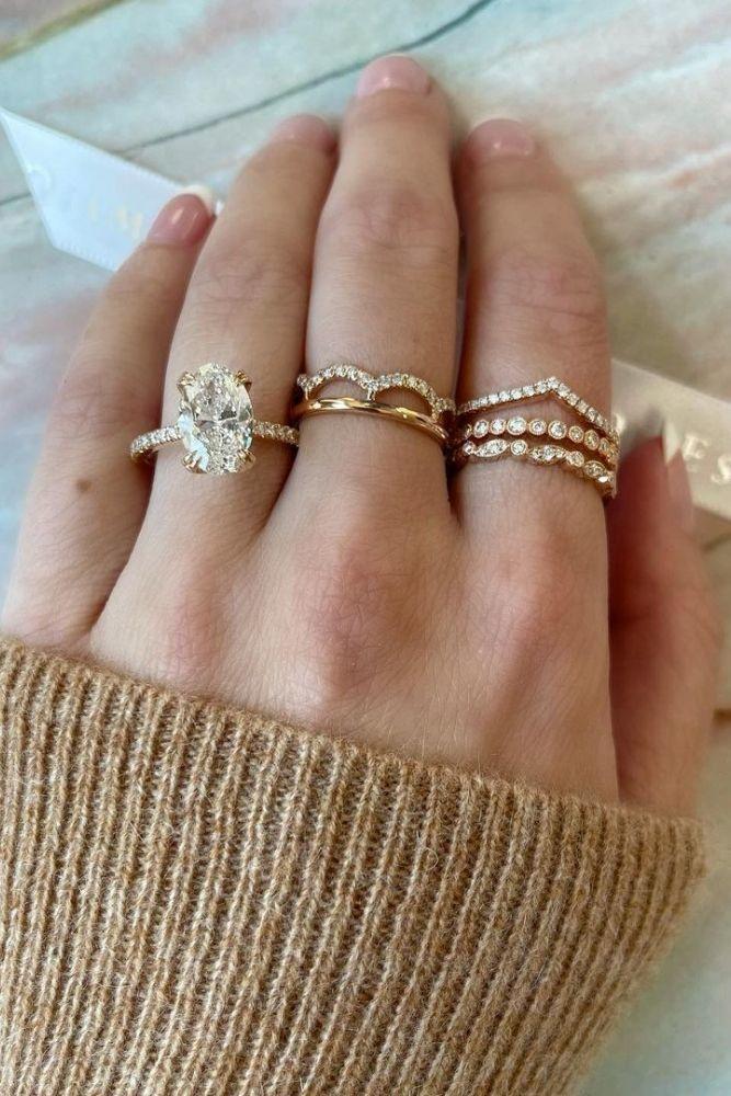 diamond wedding rings yellow gold wedding rings